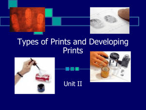 Types of Prints and Visualizing Prints