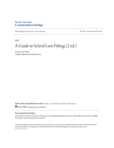 A Guide to Scleral Lens Fitting (2 ed.) - CommonKnowledge
