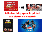 Sell advertising space in printed and electronic - neary