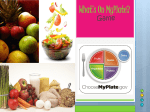 MyPlate replaces which of the following