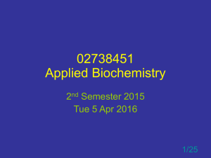 02738451 Applied Biochemistry