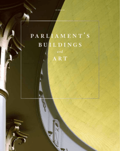 Parliament`s buildings and art