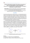 Continuous flow-ultrasonic synergy in click reactions for