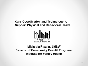HRSA Presentation March 2008 - NYS Care Management Coalition