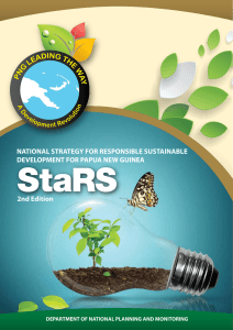 NATIONAL STRATEGY FOR RESPONSIBLE SUSTAINABLE