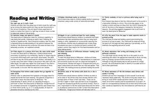 READING AND WRITING GRID