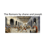 The Romans by shane and joseph