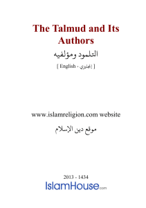 The Talmud and Its Authors PDF