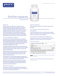 EPA/DHA Vegetarian - Pure Encapsulations