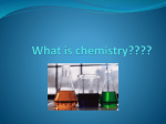 What is chemistry????