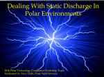 Dealing With Static Discharge In Polar Environments