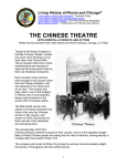 Chinese Theatre - Living History of Illinois