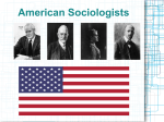 American Sociologists Albion SMALL (1854