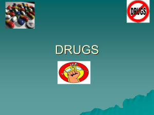 drugs - St Marys Newry