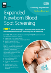 Expanded screening leaflet