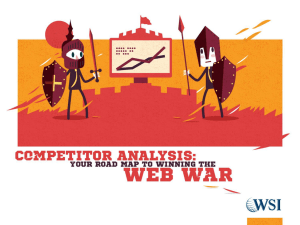 Your Road Map to Winning the Web War