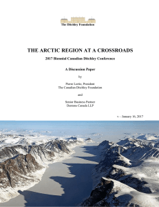 the arctic region at a crossroads