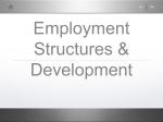 1.1 Economic Structure and Development