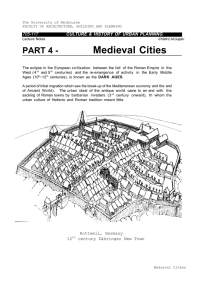 PART 4 - Medieval Cities