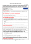 Drug Information Sheet(