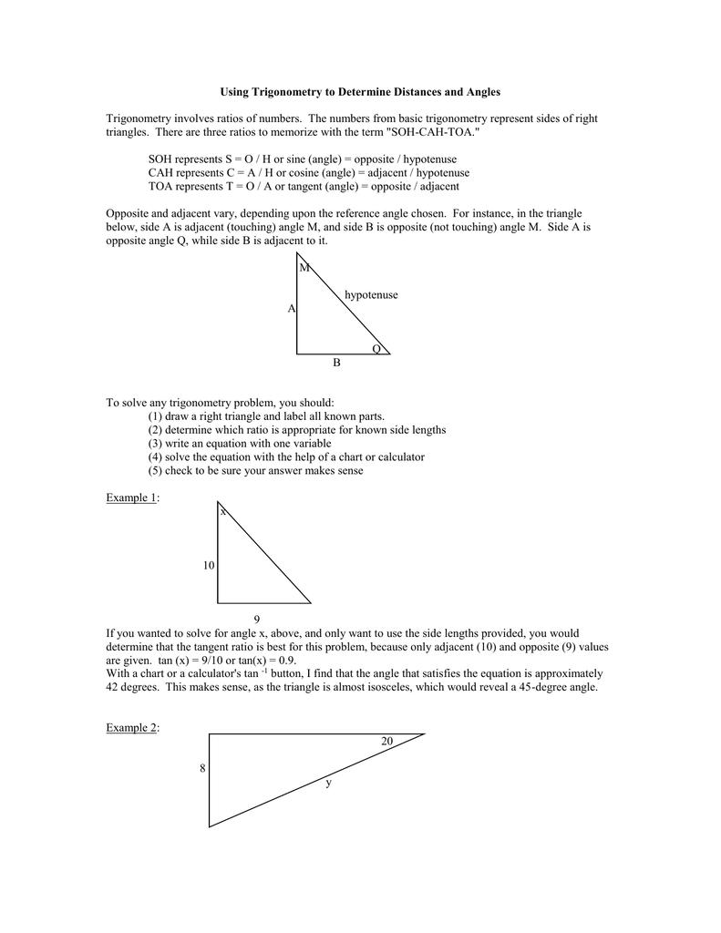 Kite Measurements 2: Trigonometry
