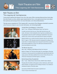 Noh Theatre on Film - Oakland Asian Cultural Center