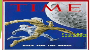 Space Race - Mr. Philip L. Thomas