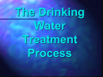 The Drinking Water Treatment Process