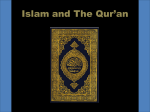 Islam and The Qur`an