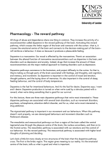 Pharmacology - The reward pathway