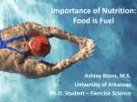 Nutrition Presentation - Younger, October 2013