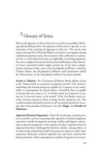 Glossary of Terms for Rhetorical Argument