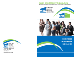 sales and marketing council application brochure