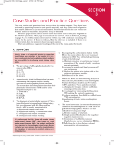 Case Studies and Practice Questions
