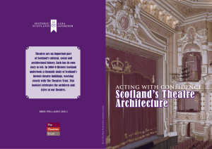 Scotland`s Theatre Architecture