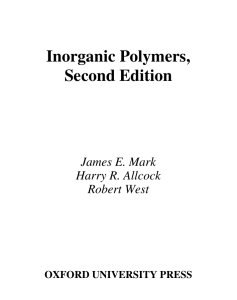 Inorganic Polymers, Second Edition