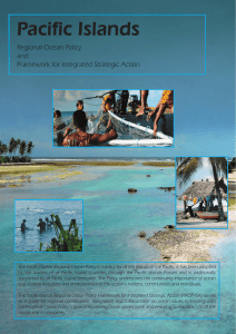 Pacific Islands Regional Ocean Policy