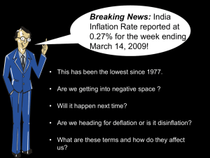 Deflation - Tata Mutual Fund