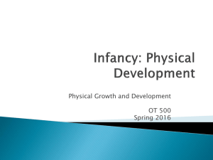 Infant Physical Development2016
