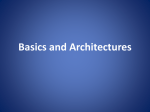 Basics and Architectures