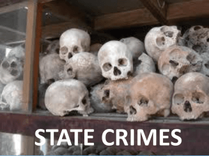 State crime - Manor Sociology