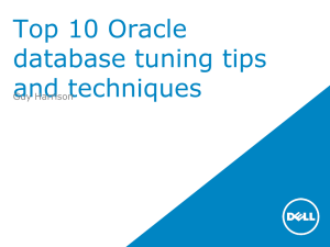 Top 10 Database tuning tips