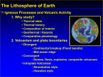 The Lithosphere of Earth