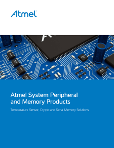 Atmel System Peripheral and Memory Products