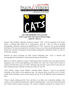 Cats - Palos Verdes Performing Arts