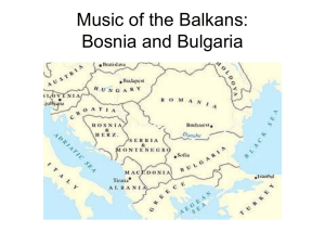 Music of the Balkans