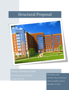 Structural Thesis Proposal