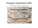 European Exploration GRQ