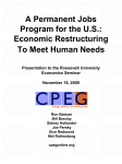 A Permanent Jobs Program for the U.S.: Economic Restructuring To