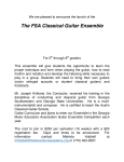 The FSA Classical Guitar Ensemble